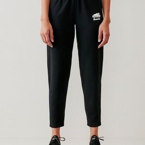 Roots cropped slim fit sweats